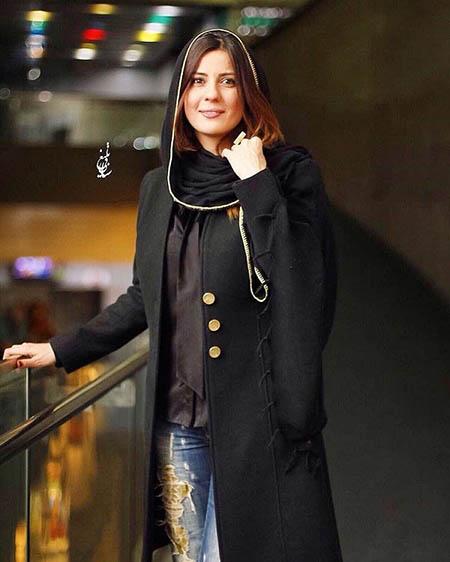 عکسهای سارا بهرامی با شلوار پاره در اکران خصوصی فیلم گیتا در سینمایی پردیس