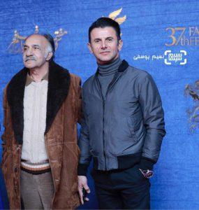محمود جعفری و امین حیایی در فیلم درخونگاه