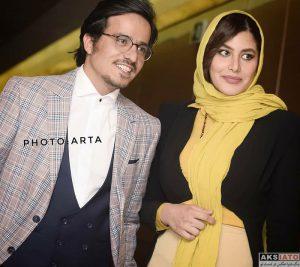 عکس حسین سلیمانی و همسرش