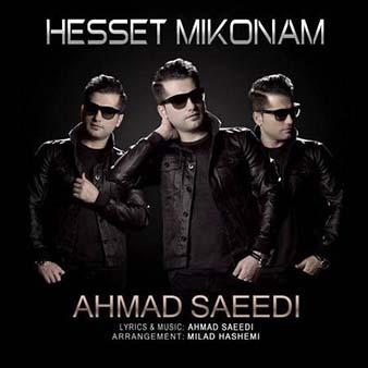 دانلود آهنگ حست میکنم تو خیالم تو پیشمی منو اون آهنگه همیشگی احمد سعیدی