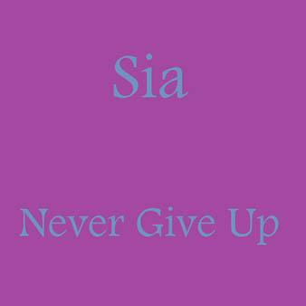 دانلود آهنگ never give up