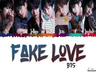 دانلود اهنگ کره ای fake love از bts اجرا شده در مراسم بیلبورد 2018 + ویدیو BTS